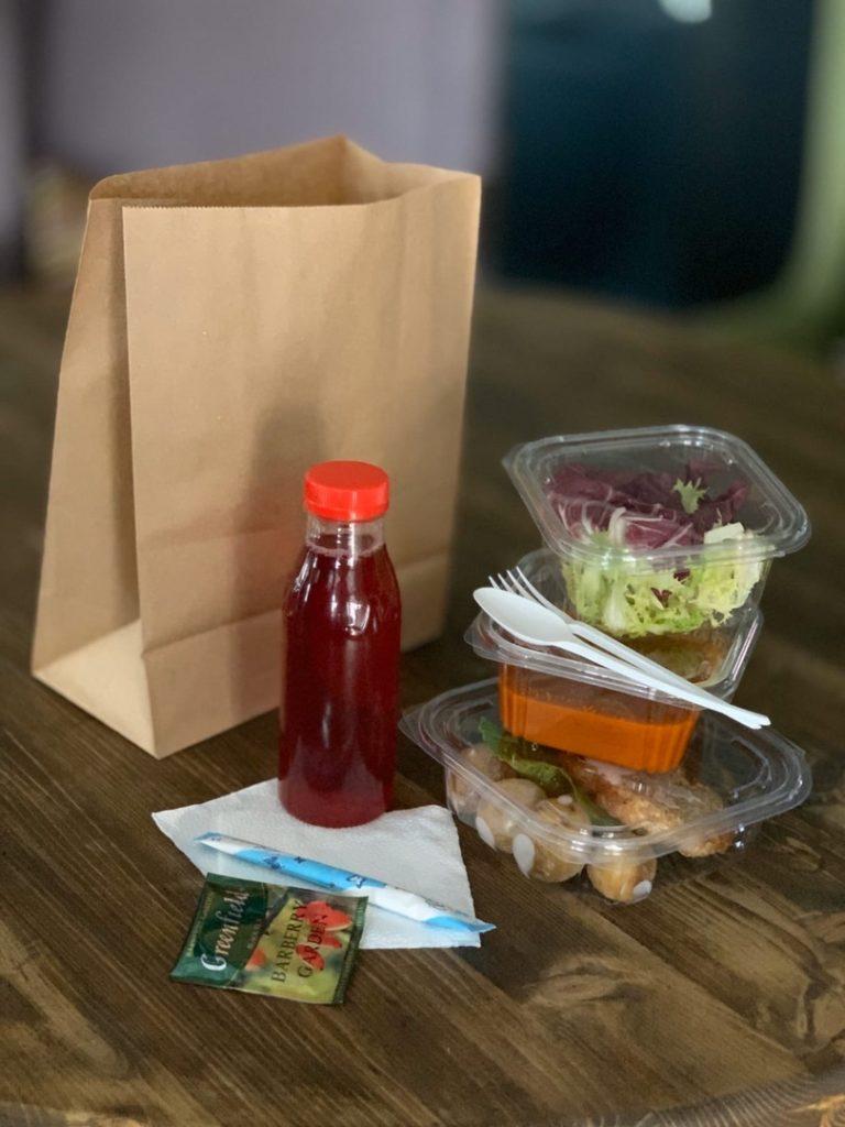 Доставка домашних обедов